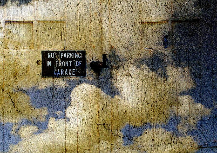 Clouds Digital Art - No Parking.......sky Garage by Derick Burke