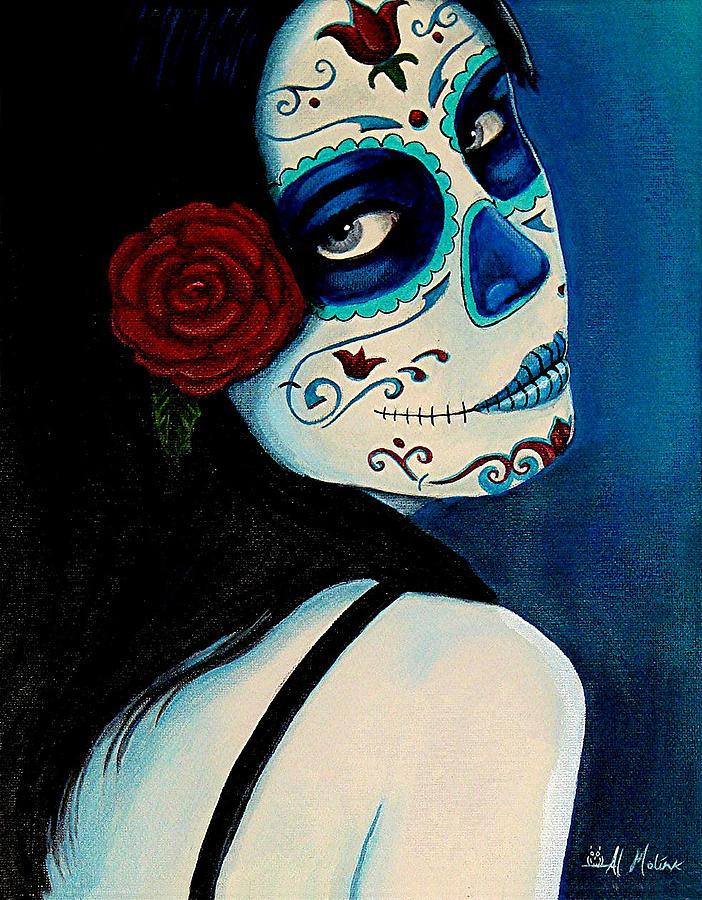 Fantasy Painting - No Se Olvide De Mi by Al  Molina