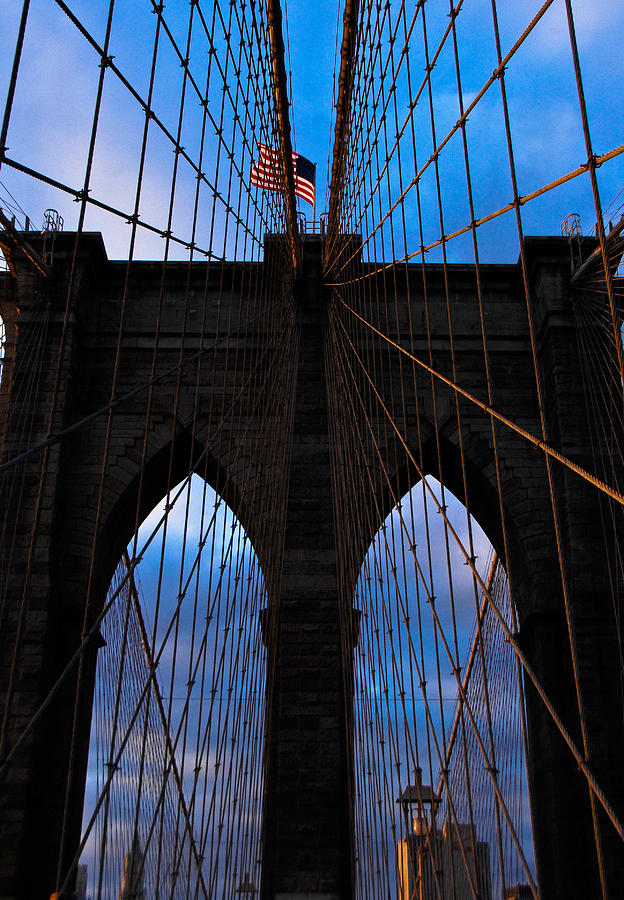 Brooklyn Bridge Photograph - No Sleep Til Brooklyn by John McGarity