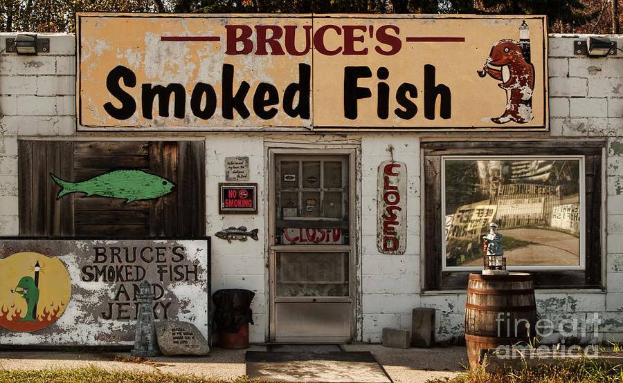 No Smoking Smoked Fish by Terry Doyle