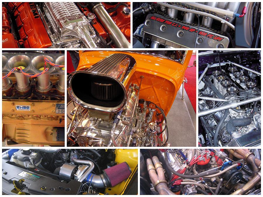 Street Rods Photograph - No Such Thing As Too Much Power by Don Struke