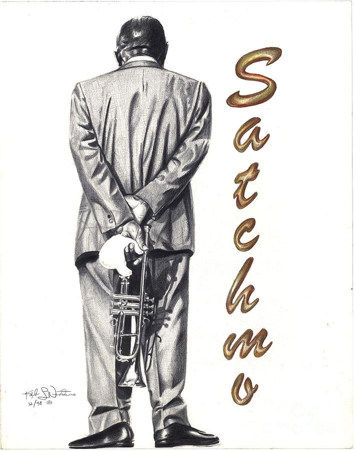 Louie Armstrong Painting - No Turnin Back by Kelvin Winters