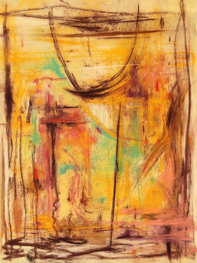 Abstract Pastel - No Walls House by Shirley McMahon