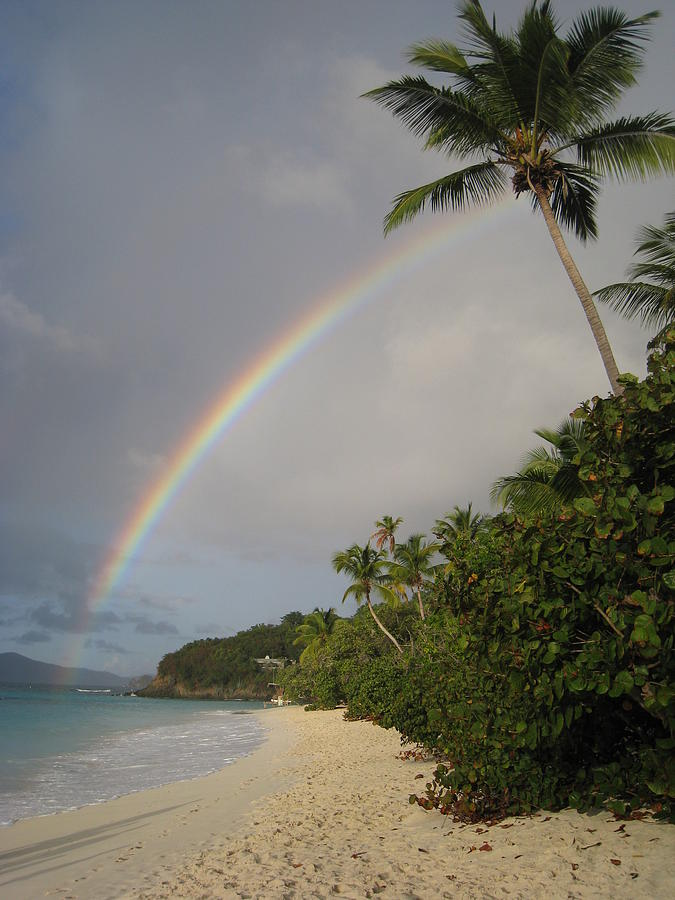 Rainbow Photograph - No Where Else Id Rather Be by Ginger Howland