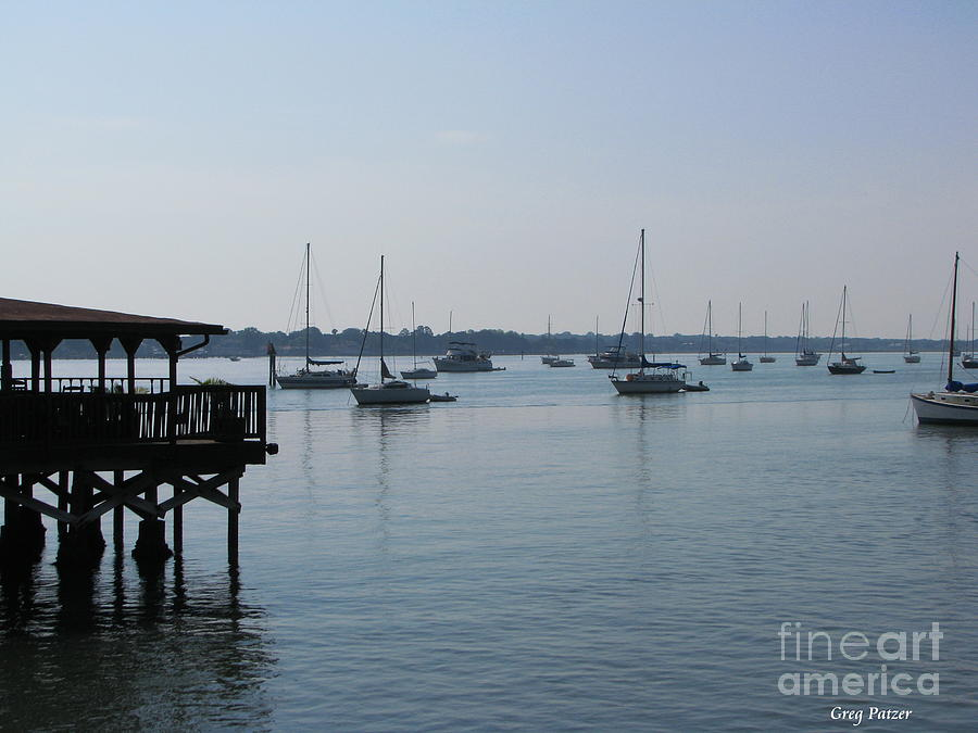 Waterfront Photograph - No Wind by Greg Patzer