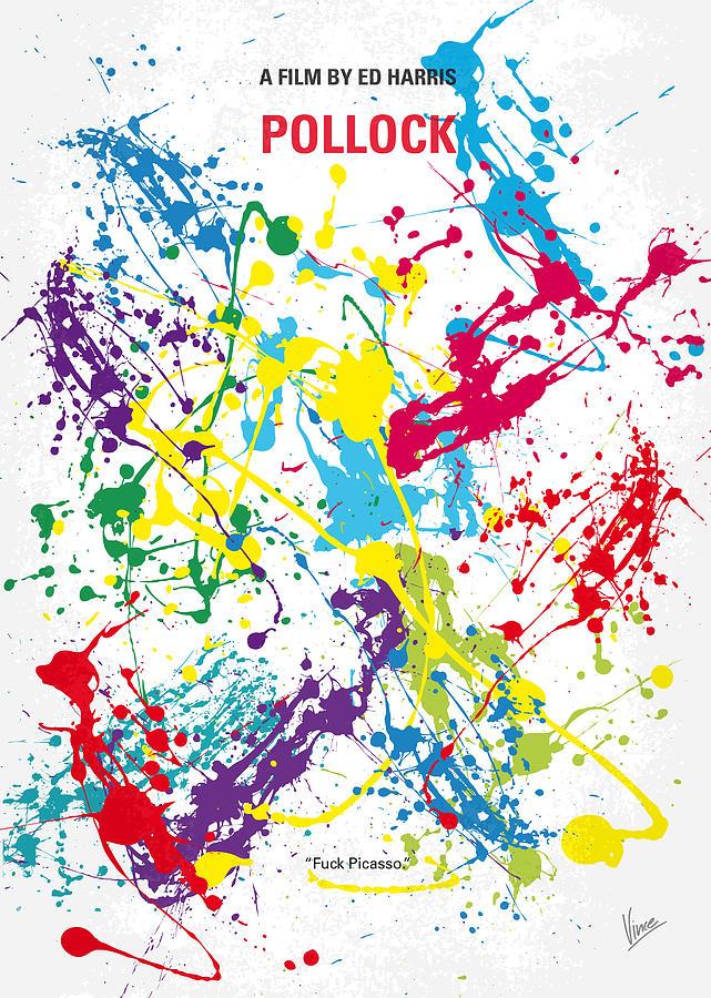 Predator Digital Art - No065 My Polock Minimal Movie Poster by Chungkong Art