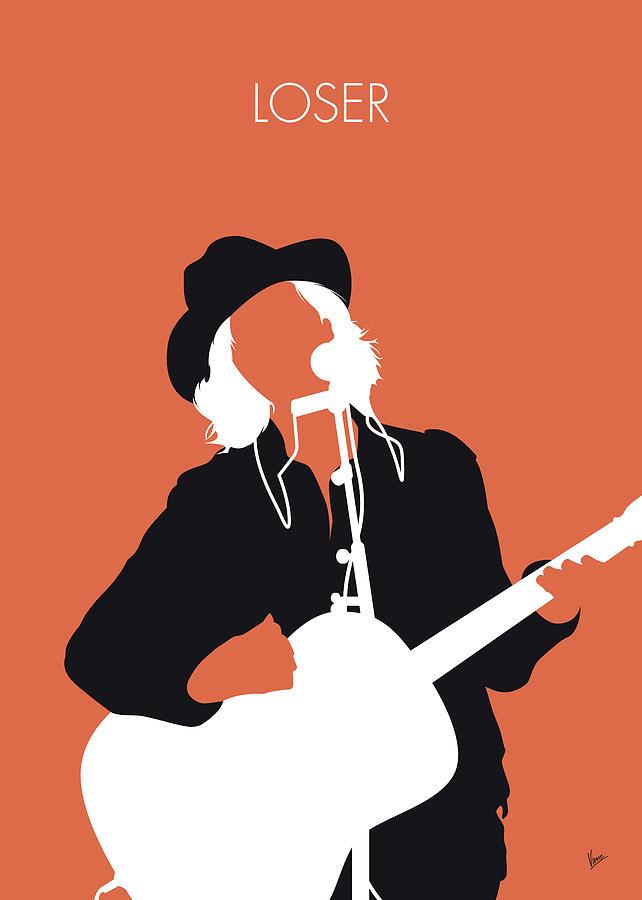 Beck Digital Art - No123 MY Beck Minimal Music poster by Chungkong Art