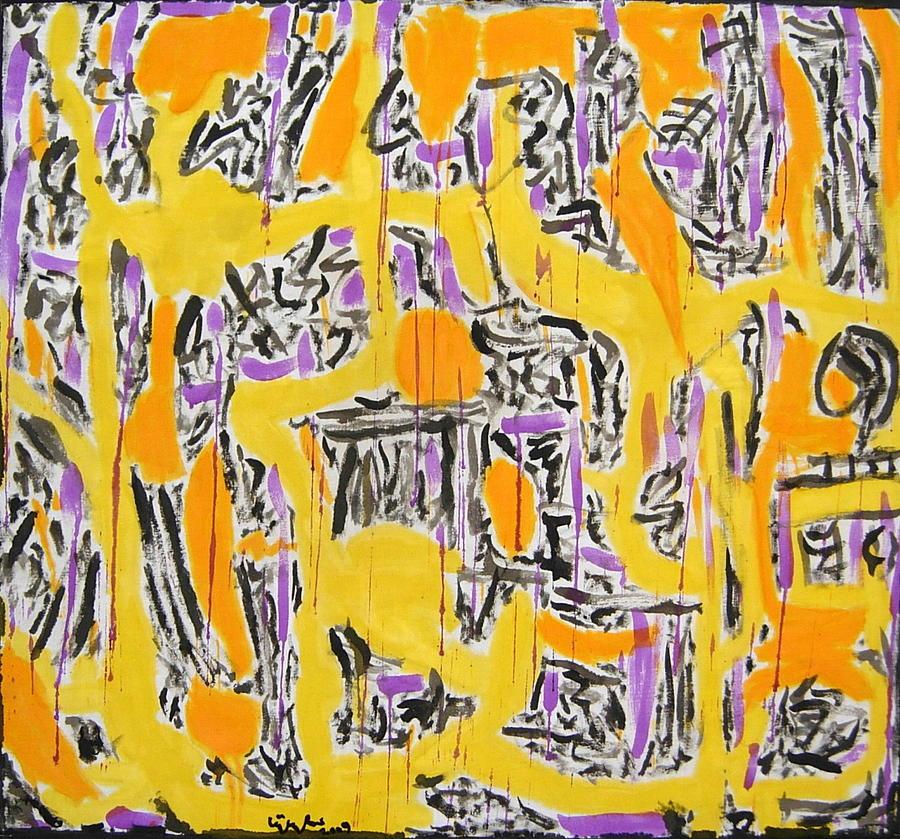 No.343 Painting by Vijayan Kannampilly
