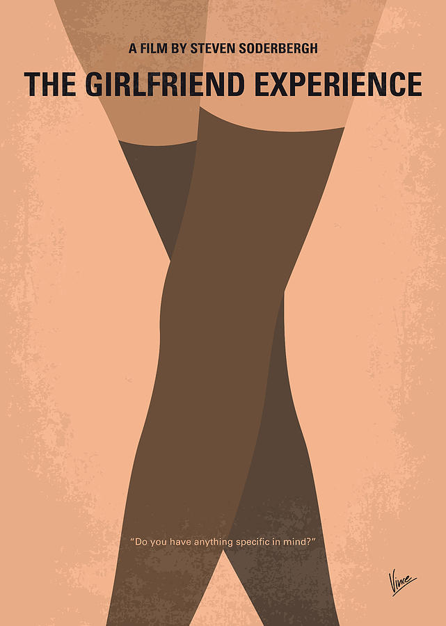 The Photograph - No438 My The Girlfriend Experience Minimal Movie Poster by Chungkong Art