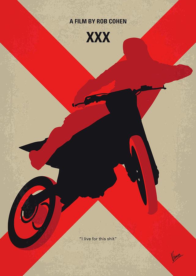 Xxx Digital Art - No728 My Xxx Minimal Movie Poster by Chungkong Art