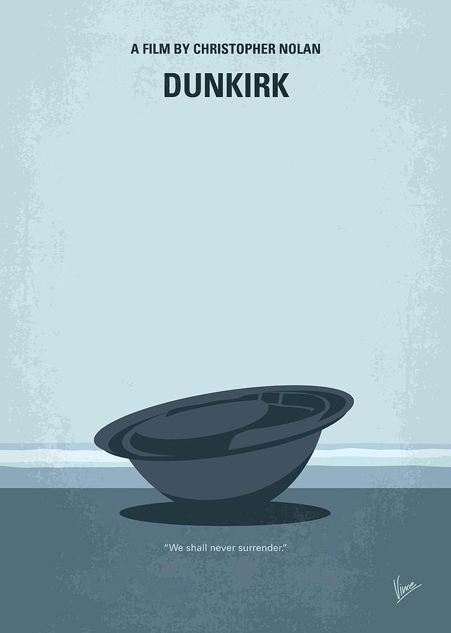 Dunkirk Digital Art - No905 My Dunkirk Minimal Movie Poster by Chungkong Art