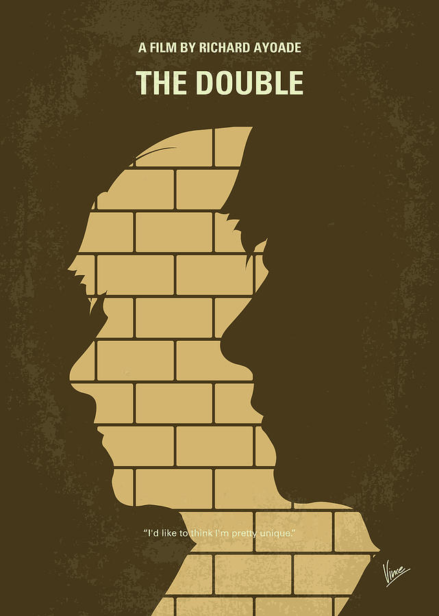 The Digital Art - No936 My The Double Minimal Movie Poster by Chungkong Art