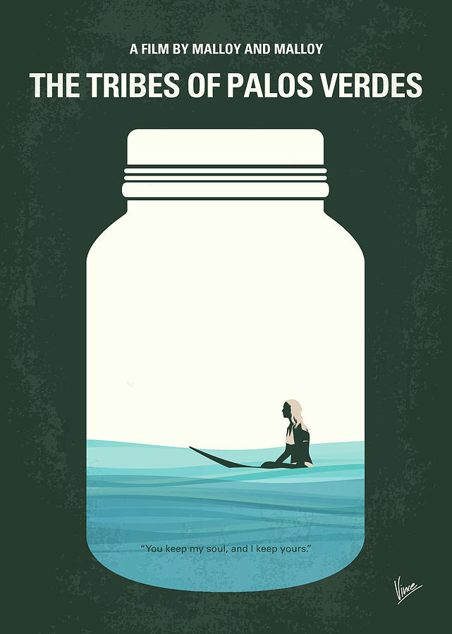 The Digital Art - No957 My The Tribes Of Palos Verdes Minimal Movie Poster by Chungkong Art