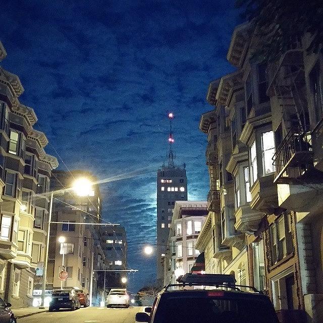 Sanfrancisco Photograph - Nob Hill Nights by Felicia Zurich-Gallagher