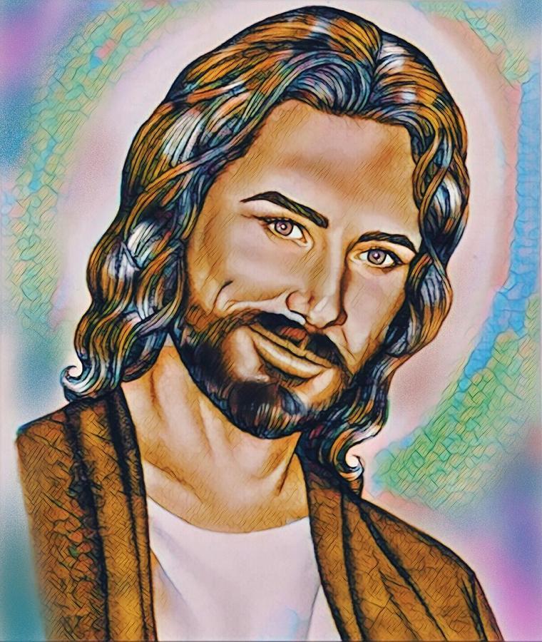Jesus Digital Art - Nobody Like Him by Karen Showell