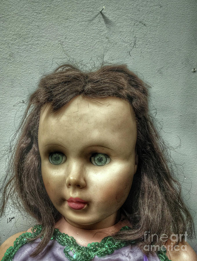 Doll Photograph - Nobodys Child  by Steven Digman