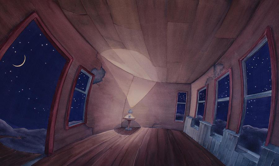Nocturnal Interior by Scott Kirby