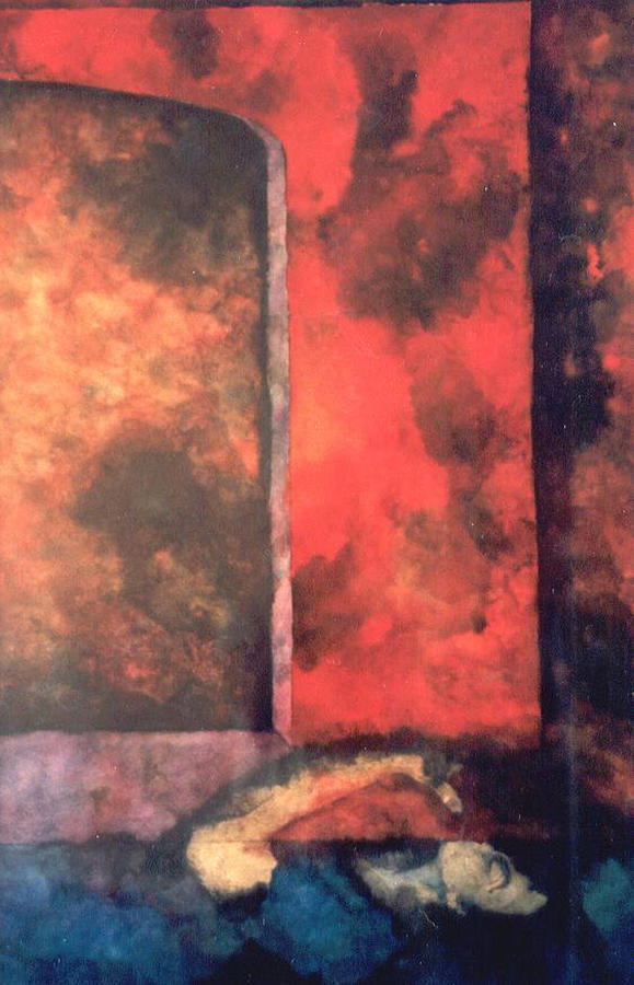 Symbolism Painting - Nocturne by Erika Brown