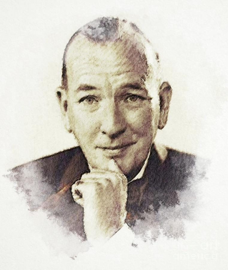 Noel Digital Art - Noel Coward by John Springfield