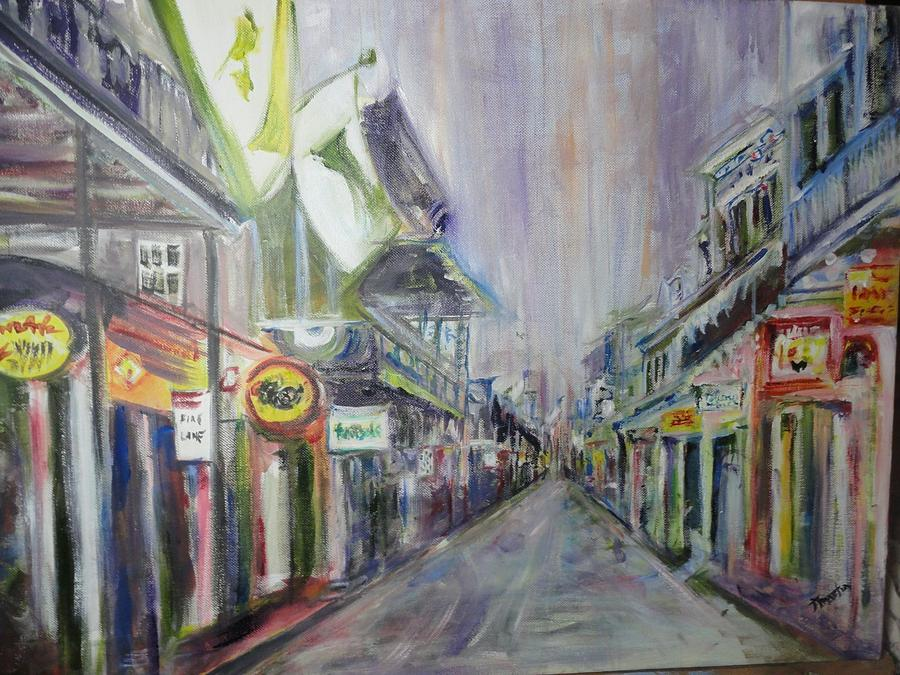 Nola Painting by Tim Martin