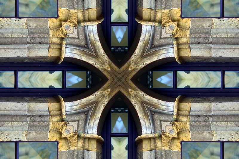 Kaleidoscopic Digital Art - Non Sense Truth by Kelidon Skellig