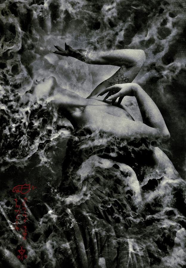 Demon Digital Art - Non Serviam by Cambion Art
