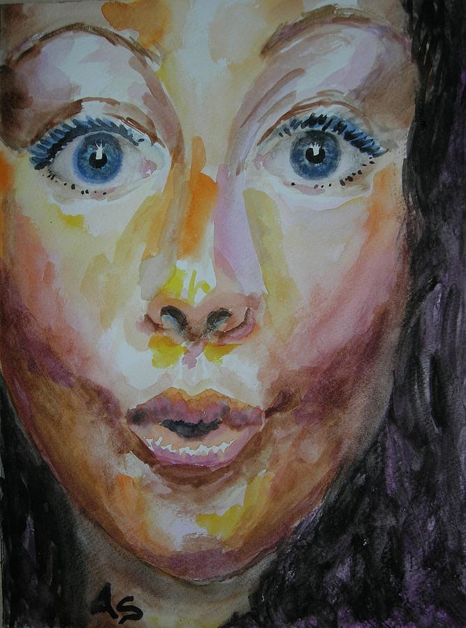 Non Sono Stata Io Painting by Annalisa Scornavacche