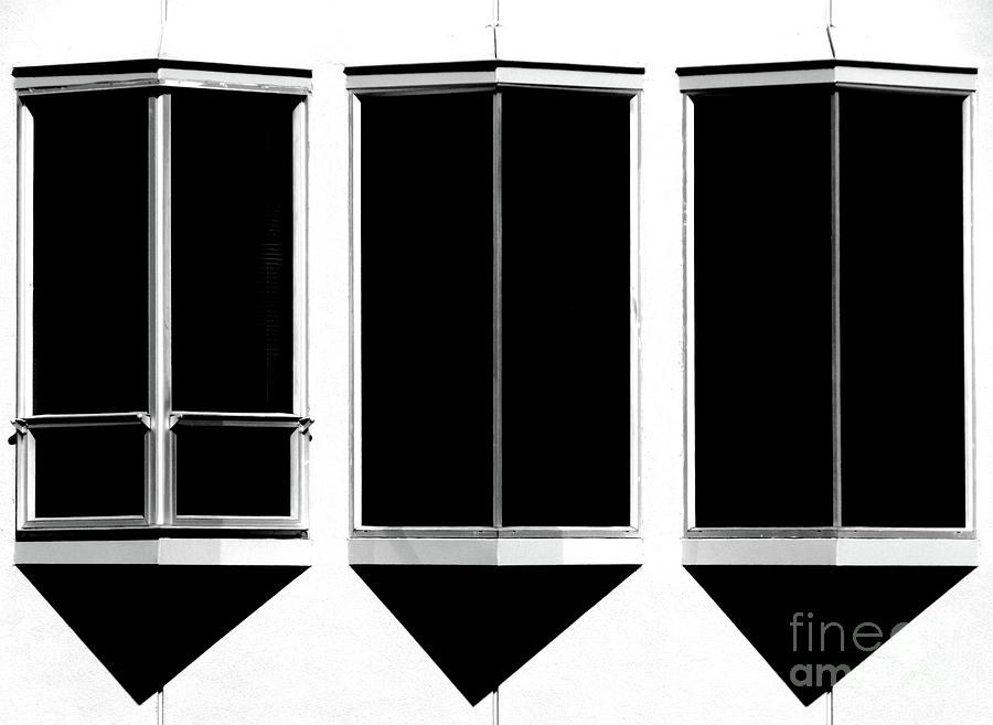 Abstract Photograph - None More Black by CML Brown