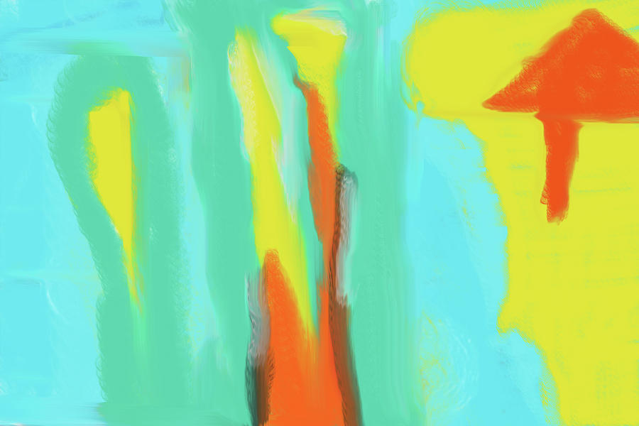 Noon Abstract 1 Digital Art