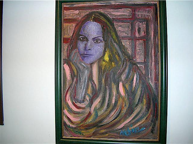 People Painting - Norah Jones by Metin Yasarturk