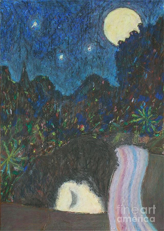 Sleep Painting - Norah Sleeping  by Andy  Mercer