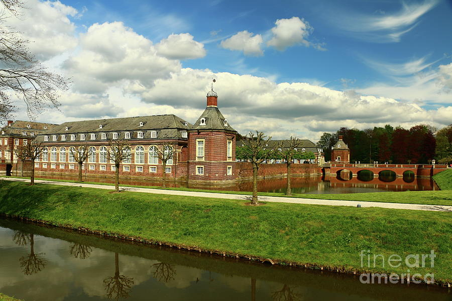 Nordkirchen A Moated Castle Photograph By Christiane Schulze Art And