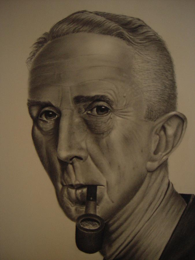 Norman Rockwell Painting - Norman Rockwell By Gene Boyer by Ron Sylvia