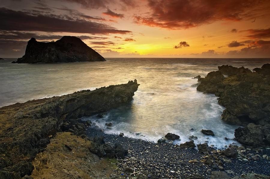 Fernando Photograph - Noronha Sunrise by Marcio Cabral
