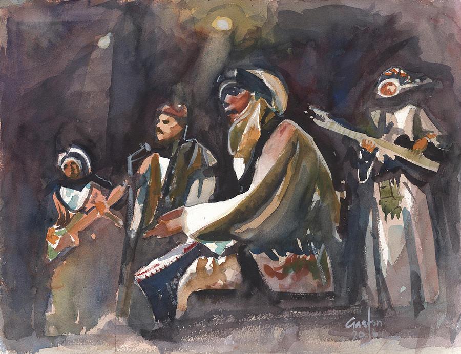 North African Musicians by Gaston McKenzie