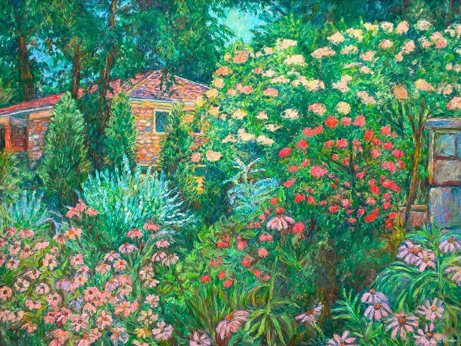Garden Painting - North Albemarle in McLean VA by Kendall Kessler