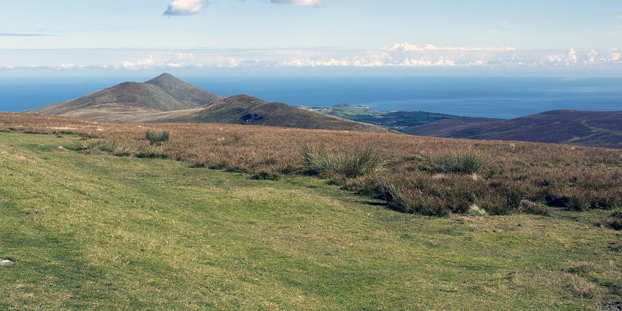 Mountains Photograph - North Barrule And Maughold Head by Steve Watson