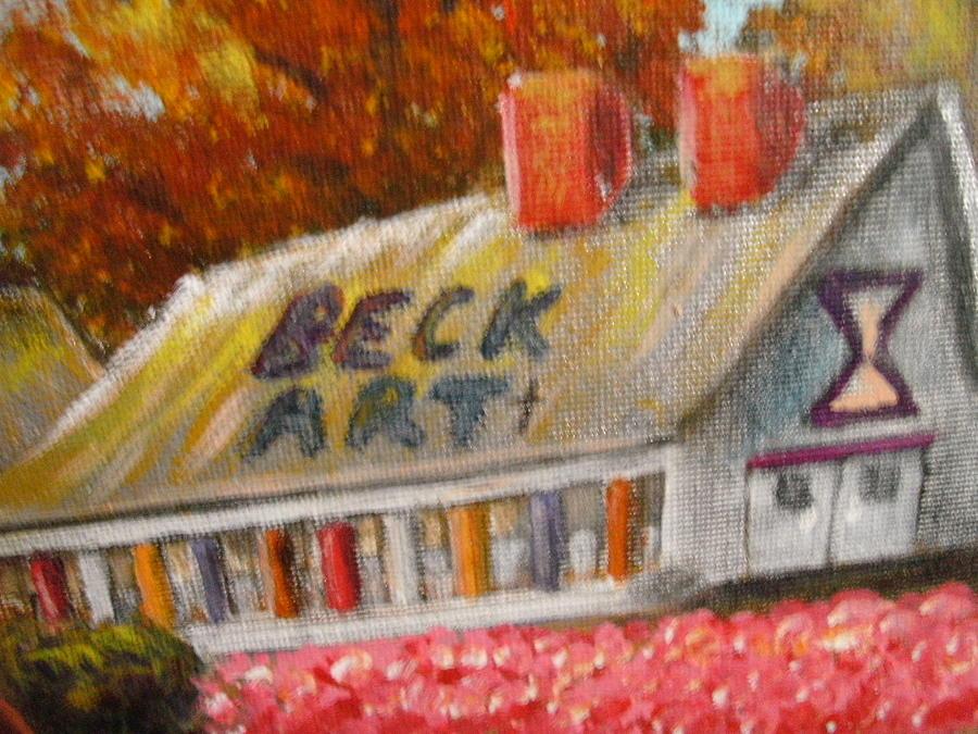 North Beckartt Studios Mixed Media by Becky Jenney
