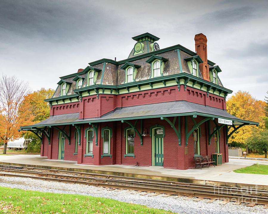 North Bennington Station by Phil Spitze