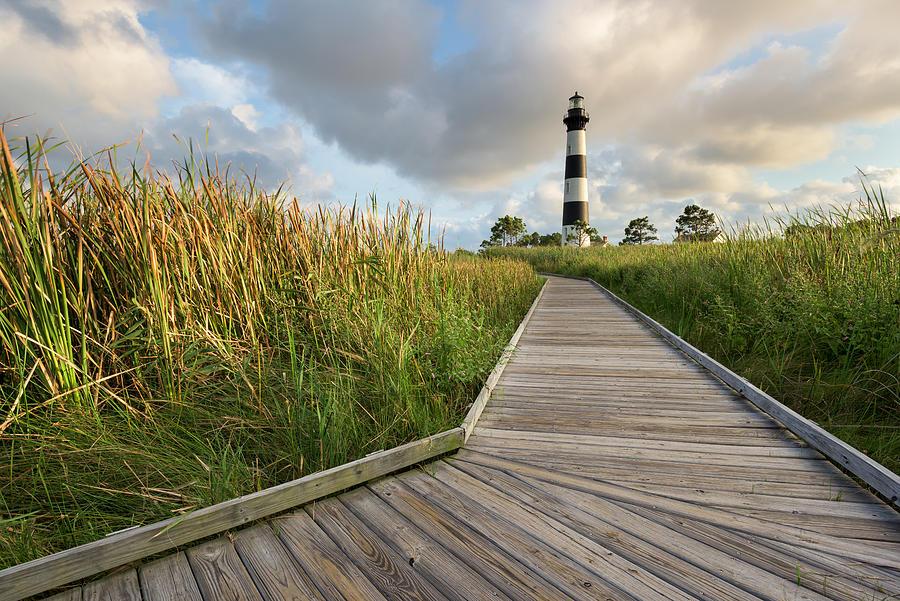 North Carolina Photograph - North Carolina Bodie Island Lighthouse Summer by Mark VanDyke