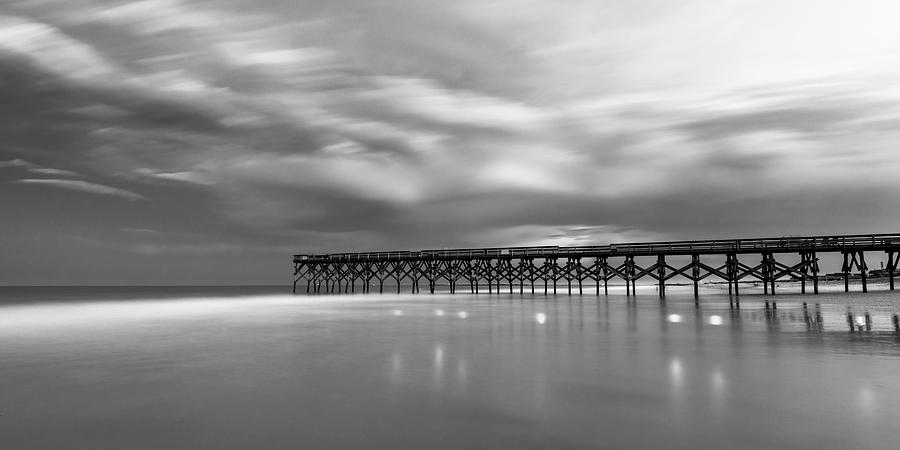North Carolina Crystal Pier Panorama by Ranjay Mitra