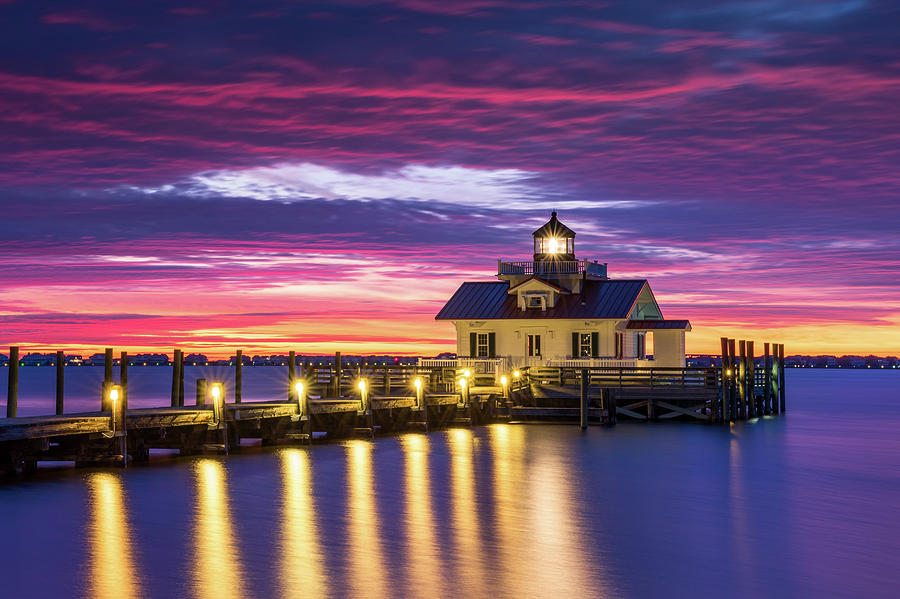 North Carolina Outer Banks Lighthouse Manteo Obx Nc Photograph