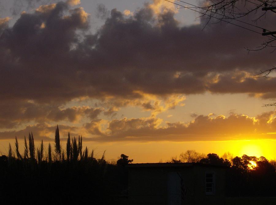 Sunrise Photograph - North Carolina Sunrise by Linda Bennett