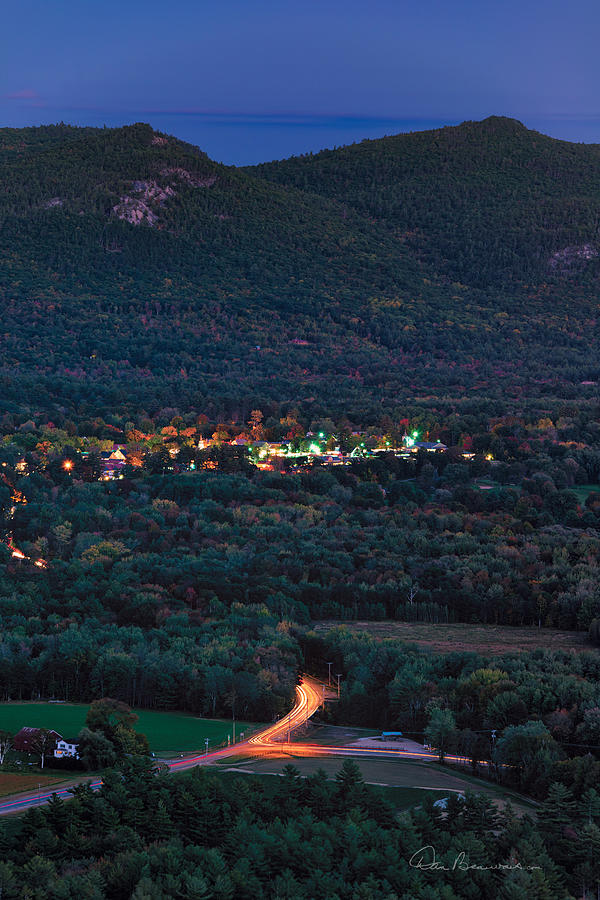 North Conway Dusk 6888 Photograph
