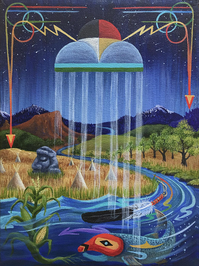 North Dakota Painting - North Dakota Prayer by Kristen Holmberg