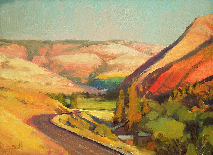 North Fork Touchet Painting