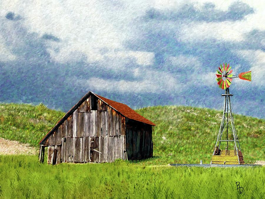 North Forty Range Barn by Ric Darrell