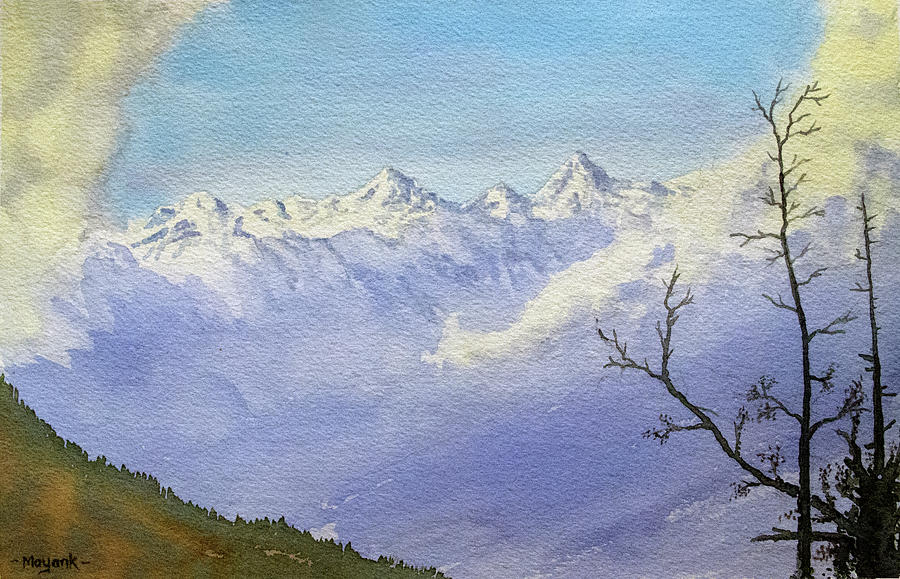 North from Kais Dhar by Mayank M M Reid