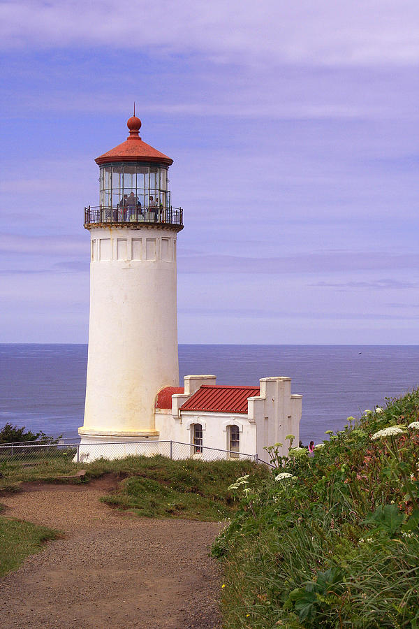 Lighthouse Photograph - North Head Lighthouse Li 2000 by Mary Gaines