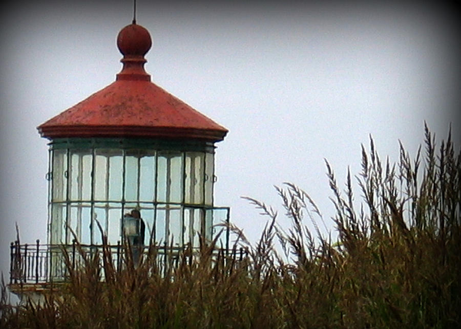 Lighthouse Photograph - North Head Lighthouse by Mg Blackstock
